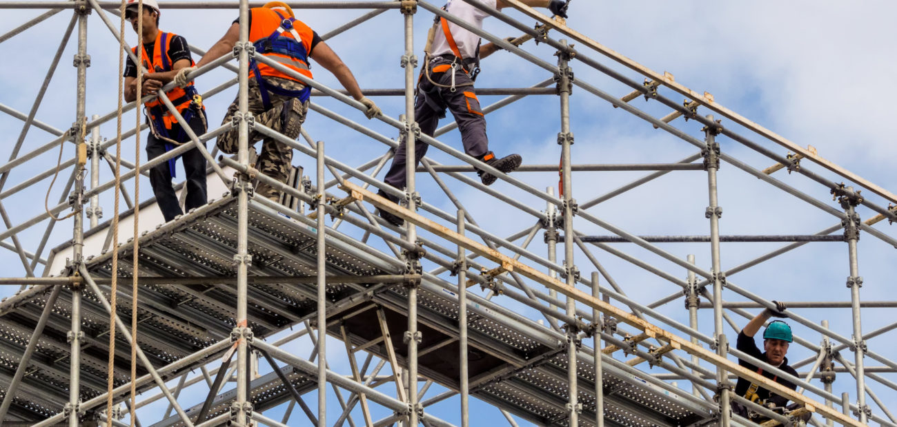 Safety course in professional scaffolding – Special Missions
